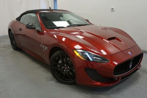 New 2017 Maserati GranTurismo Sport With Navigation